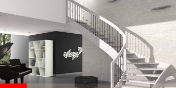 Esperia Viscal: the right loft-stair for a furniture in Scandinavian - Nordic Style�