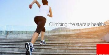 Scale e benessere. Scopri come salire le scale fa bene alla salute.