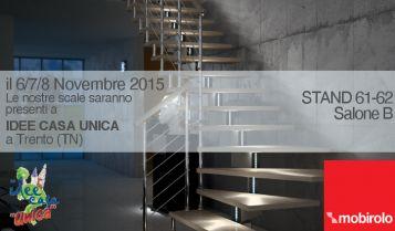 IDEE CASA UNICA | Ti aspettiamo a Trento il 6-7-8 Novembre 2015