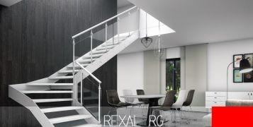 7 motivi per scegliere una scala per interni in vetro Rexal RG di Mobirolo