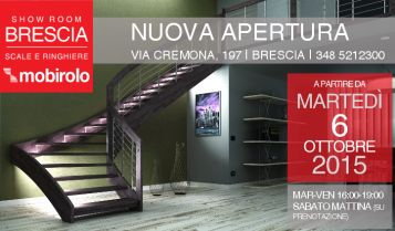 Nuova apertura | Show Room Brescia