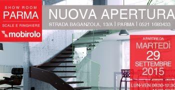 Nuova apertura | Show Room Parma