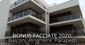 Bonus Facades 2020: balconies, railings, parapets