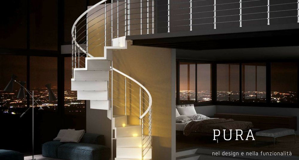 Modern Inside Staircase Pura Directly In The Web Site MODEL PURA