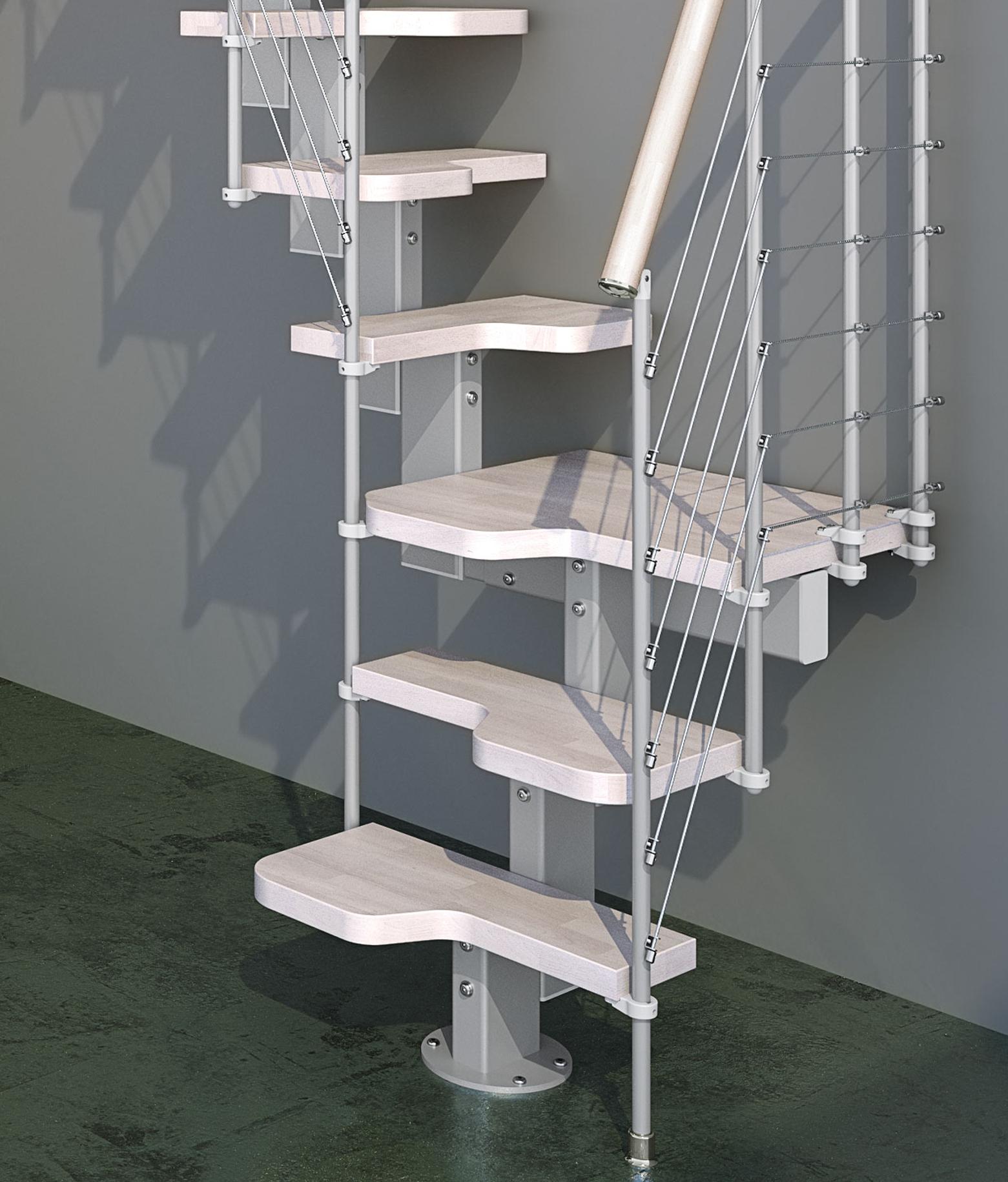 Scale interne moderne per piccoli spazi e scale per - Scale per soppalchi ...