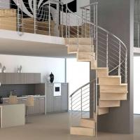 Pura ampia scelta di scale a chiocciola e scale elicoidali in legno per interni con - Scale a chiocciola bari ...
